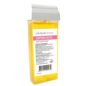 Бандажная сахарная паста для депиляции Silk & Soft, 150 г в картридже