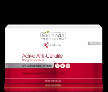 Активный антицеллюлитный концентрат для тела, 10*10 мл
