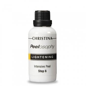 Интенсивный осветляющий пилинг Christina - Lightning Intensive Peel Peelosophy, шаг 6, 50 мл Архив | Venko