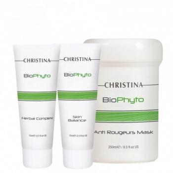 Деликатный уход для кожи с признаками купероза (3 продукта) Christina | Venko