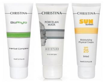 Комплексный уход в период солнечной активности (3 продукта) Christina
