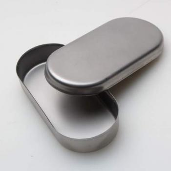 Лоток з кришкою з нерж. сталі для фрез 90х40х15 мм | Venko