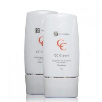 Крем Dermaheal CC Сream SPF 30 Natural Beige Peptidcosmetics | Venko