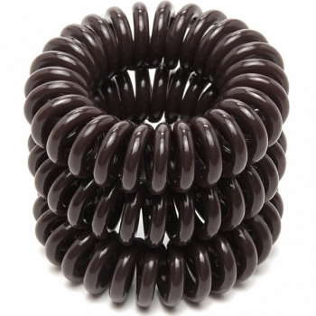 Резинка для волос EZ Bobbles Brown, 3 шт. | Venko