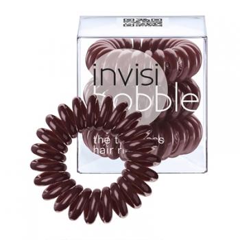 Резинка для волос INVISI Bobble  Chocolate Brown, 3 шт. | Venko