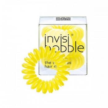 Резинка для волос  INVISI Bobble Submarine Yellow, 3 шт. | Venko