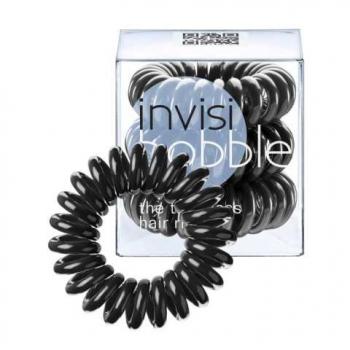 Резинка для волос  INVISI Bobble True Black, 3 шт. | Venko