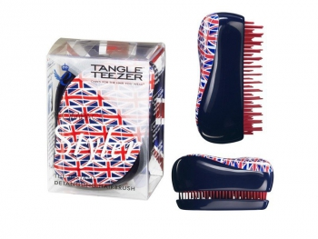 Расческа Tangle Teezer Compact Styler Cool Britania (Британский фраг) | Venko