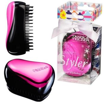 Расческа Tangle Teezer Compact Styler Pink (Зеркальная поверхность) | Venko