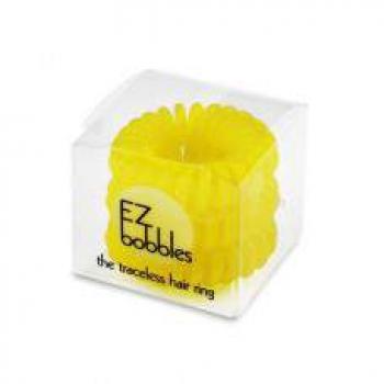 Резинка для волос EZ Bobbles Neon Yellow, 3шт.