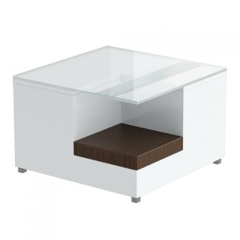 Стол для зоны ожидания Ginza Panda (Шпон, МДФ)