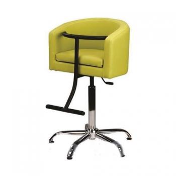Кресло парикмахерское Kid на гидравлике хром | Venko