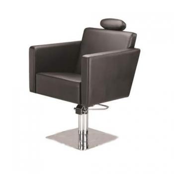 Кресло парикмахерское Quadro на пневматике хром | Venko