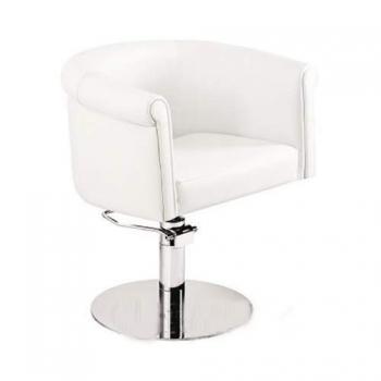 Кресло парикмахерское Reflection на пневматике хром | Venko