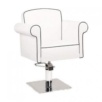 Кресло парикмахерское Art Deco на пневматике хром | Venko