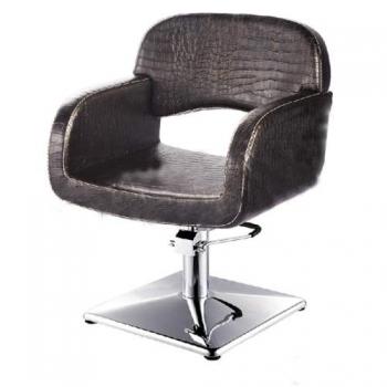 Крісло перукарське VM828 на пневматиці хром | Venko