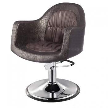 Кресло парикмахерское VM827 на пневматике хром | Venko