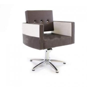 Кресло парикмахерское VM822 на пневматике хром | Venko