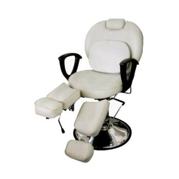 Педикюрное кресло на гидравлике S346 (белый) | Venko