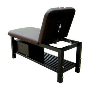 Массажный стол стационарный S855A (темно-коричневый) | Venko
