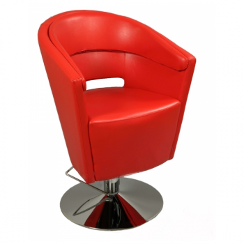 Парикмахерское кресло A 061 Красное | Venko