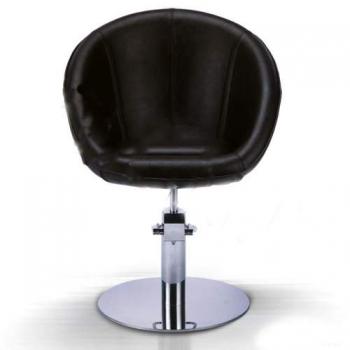 Кресло парикмахерское VM808 на пневматике хром | Venko