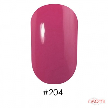 Лак для ногтей Naomi #204, 12 мл, Весна-лето