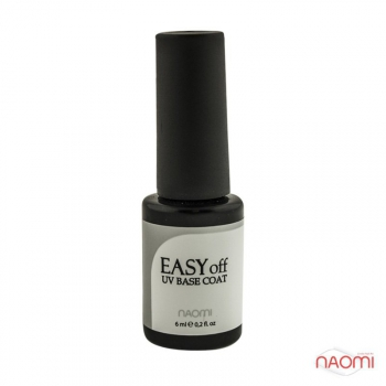 Основа под гель-лак Naomi Gel Base Easy off uv base coat, 12 мл | Venko