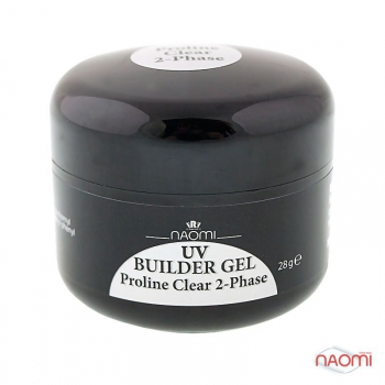 Гель Naomi UV Builder Gel Proline Clear 2-Phase, 28гр   | Venko
