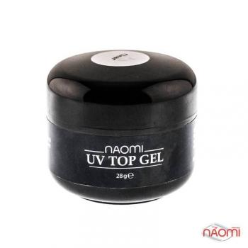 Завершающий топ гель Naomi UV Top Gel (Clear), 28 гр