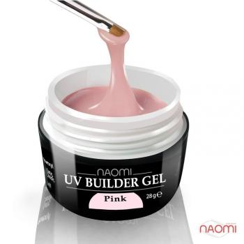 Строительный гель розовый UV Builder Gel Pink, 28 гр | Venko