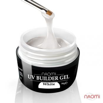 Строительный гель белый UV Builder Gel White, 28 гр | Venko