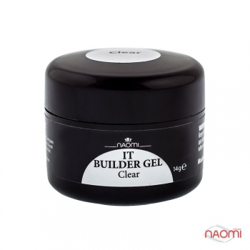 Гель Naomi IT Builder Gel Clear, 14гр | Venko