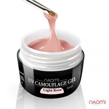 Светло розовый камуфляжный гель UV Camouflage Gel Light Pink, 28 гр