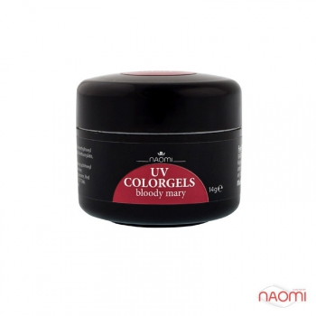 Камужфляжный гель UV Colorgels Bloody Mary, 14g | Venko