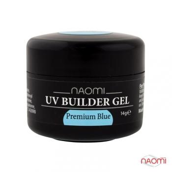 Камужфляжный гель UV Builder Gel Premium Blue,14 g | Venko