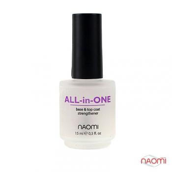 Универсальное покрытие 3 в 1,  15 мл Naomi All-in-One | Venko