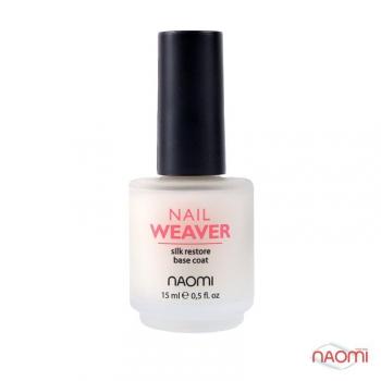 Восстанавливающее базовое покрытие, 15 мл Naomi Nail Weaver | Venko