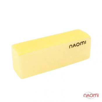 Баф для ногтей желтый NAOMI, 220/220 HBWB10Y | Venko
