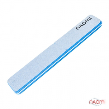 Шлифовщик для ногтей голубой NAOMI, 100/100 CO781A | Venko