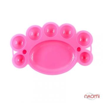 Палитра для нейл-арта (розовая)