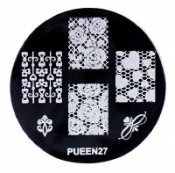 Диск для стемпинга PUEEN №27 | Venko