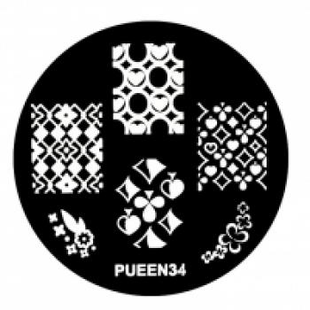 Диск для стемпинга PUEEN №34 | Venko