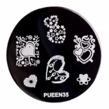 Диск для стемпинга PUEEN №35 | Venko
