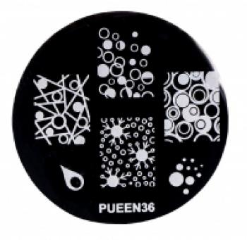 Диск для стемпинга PUEEN №36 | Venko