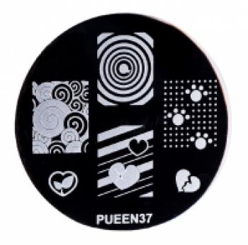 Диск для стемпинга PUEEN №37 | Venko
