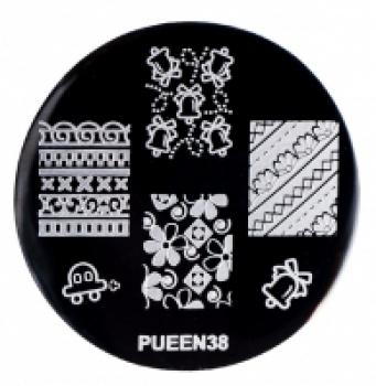 Диск для стемпінгу PUEEN №38 | Venko