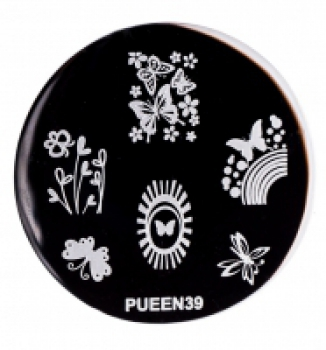 Диск для стемпинга PUEEN №39   Venko