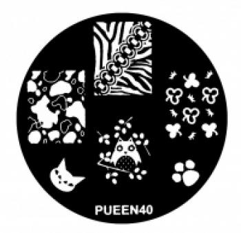 Диск для стемпинга PUEEN №40 | Venko