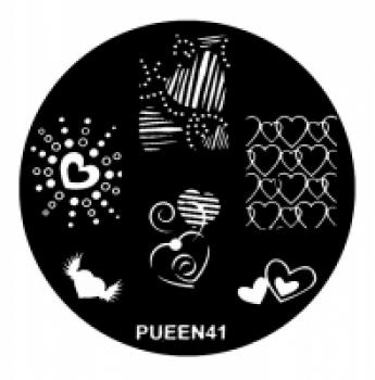 Диск для стемпинга PUEEN №41 | Venko